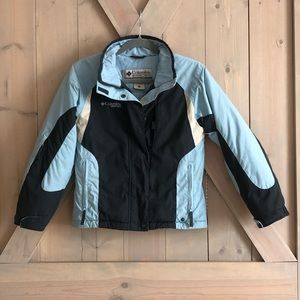 Columbia vortex boys snow jacket 10 12 YL Vintage
